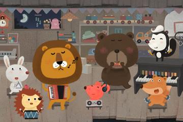《狮子和老鼠》游戏介绍